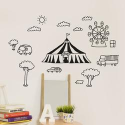 Chispum - Wallstickers - Circus