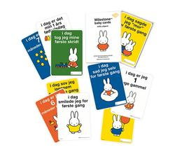 Milestone - Baby Cards, Miffy
