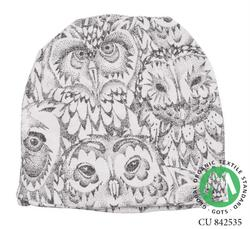 Soft Gallery - Beanie, Cream ugle