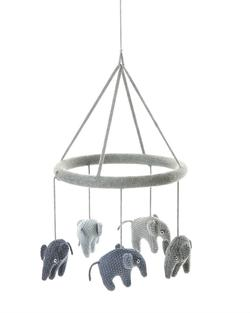 Smallstuff - Elefant Uro, Grey/Blue