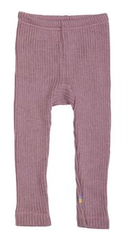 Joha - Rib Uld Leggings, Old Rose