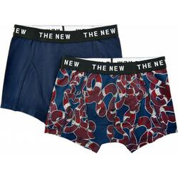The New - Boxershorts 2-Pak, Snake/Navy Blazer