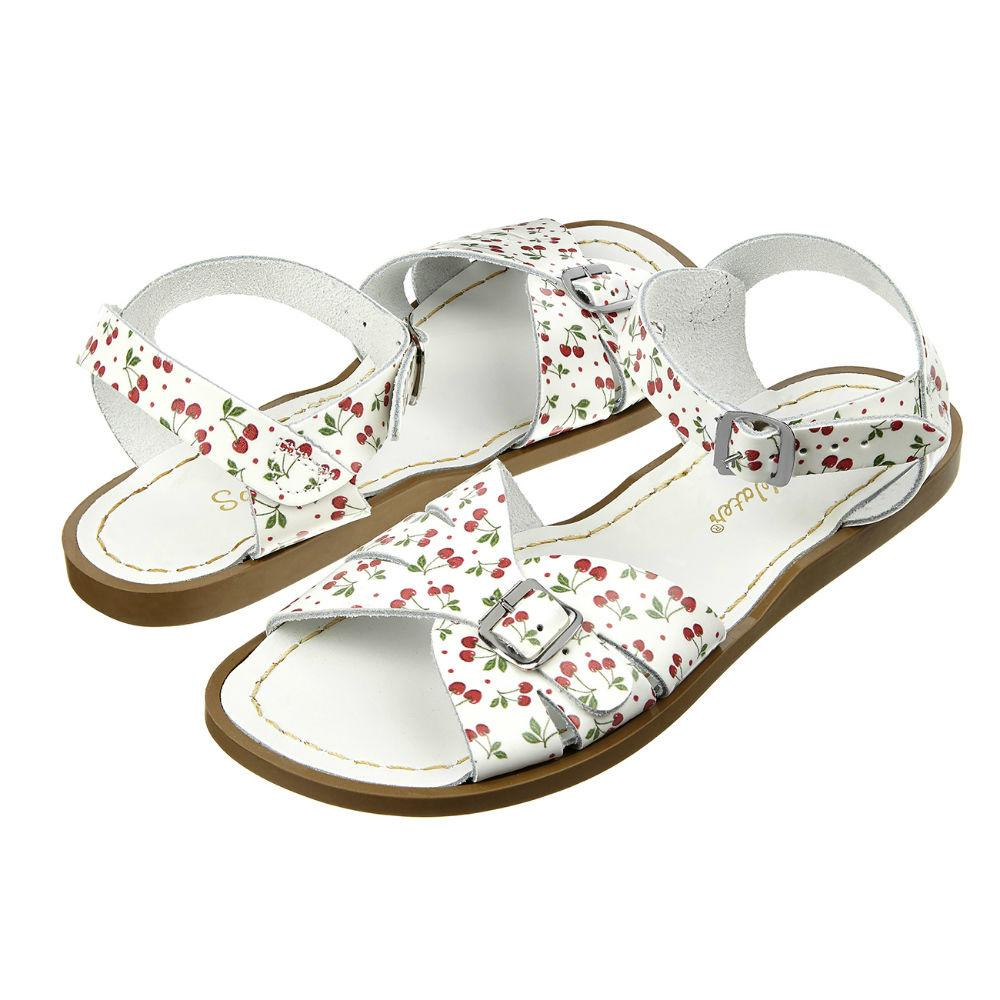 Sun San Salt Water sandal med spænde, Cherry