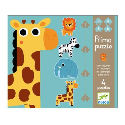 Djeco - Primo puzzle, Jungle