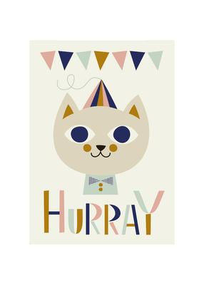 Ferm Living - Mr. Cat plakat