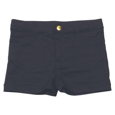 Knast by Krutter - Merle shorts, Black denim
