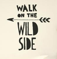 Chispum - Wallsticker - Walk on the wild side