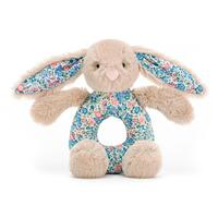 Jellycat - Blossom Beige Kanin Rangle
